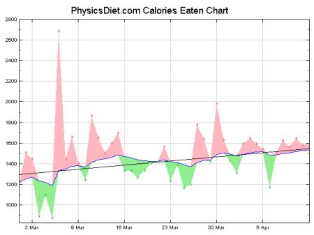 Denní kalorický příjem